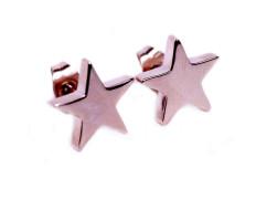 79405 Star studs rosegold L