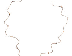 Belle Uno Necklace Multi Rosegold