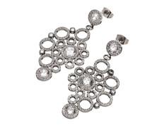 Liz earrings steel