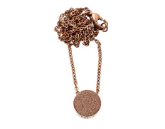 80856 Dottie short necklace rose gold