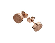 80070 Dottie studs glittering rose gold