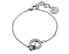 81100 Eternity-mini-bracelet-steel