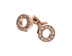 77779 Eternity earrings rosegold