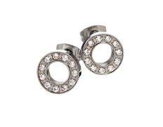 79113 Eternity orbit earrings steel