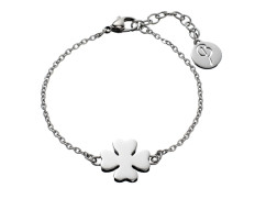 78777 Lucky thin bracelet steel
