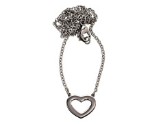 81230 Monaco-heart-necklace-steel