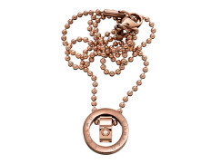 79881 We necklace original rose gold