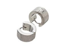 79154 Weekday earrings mat steel