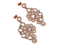 Liz earrings rose gold