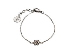 Belle flower bracelet steel