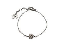 Belle flower bracelet steel