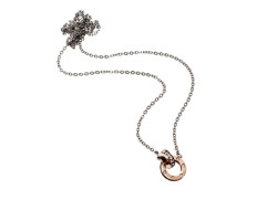 Ida necklace mini rose gold
