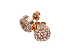 Dottie studs cz rose gold