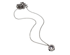 Thassos necklace long steel