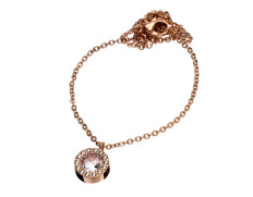 Thassos necklace rose gold