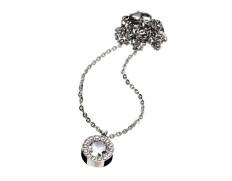 Thassos necklace steel