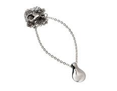 Tossa necklace single steel