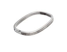 Jolie bangle cz steel