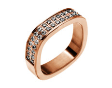 Jolie ring cz rose gold